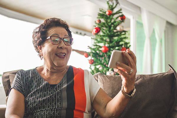 Helping seniors fight depression during a difficult holiday season
