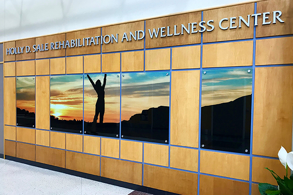 A closer look at The Holly D. Sale Rehabilitation and Wellness Center