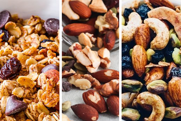 A trail mix recipe roundup