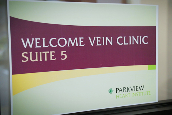 Go inside the Vein Clinic at Woodland Plaza