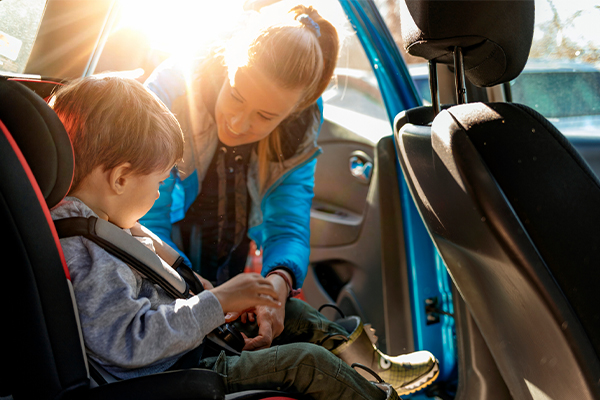 Article image for Cold weather car seat safety