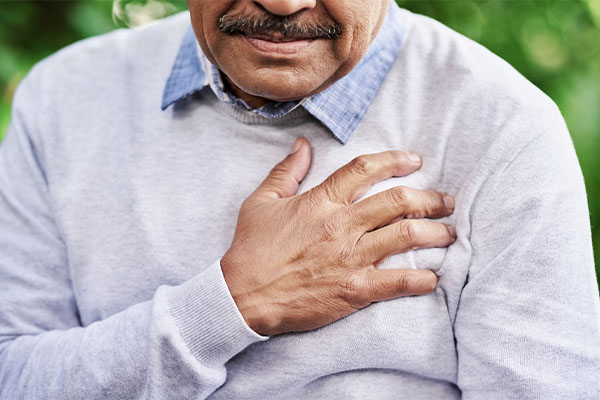 Seeking emergency care for chest pain