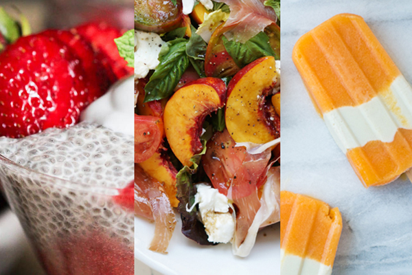 7 healthy recipes using summer's most fabulous fruits