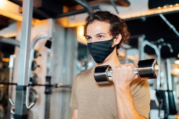 Article image for Do I need to wear a mask when I exercise?