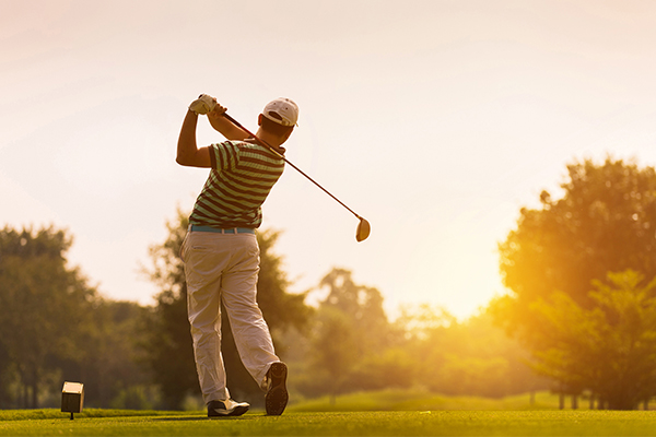 These are the three most common golf injuries