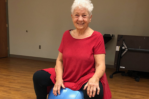 Joy Krug talks active aging