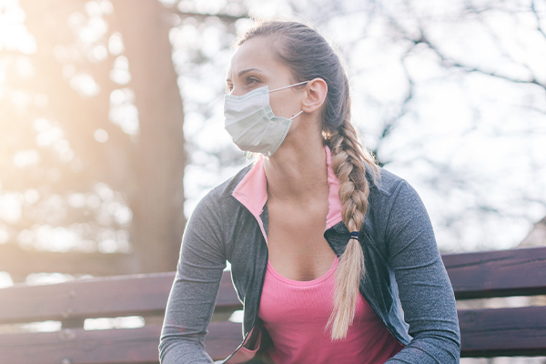 Do I need to wear a mask when I exercise?