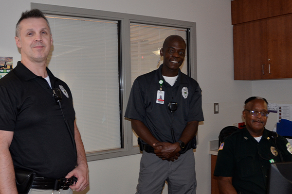 A sense of security: My shift with the Parkview Police