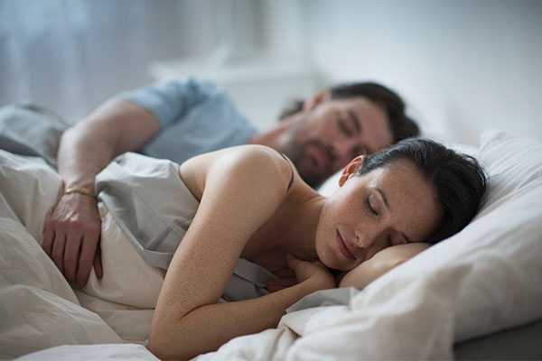 The secret to sleeping soundly with your sweetie