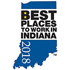 Best Places to Work in Indiana 2018 logo