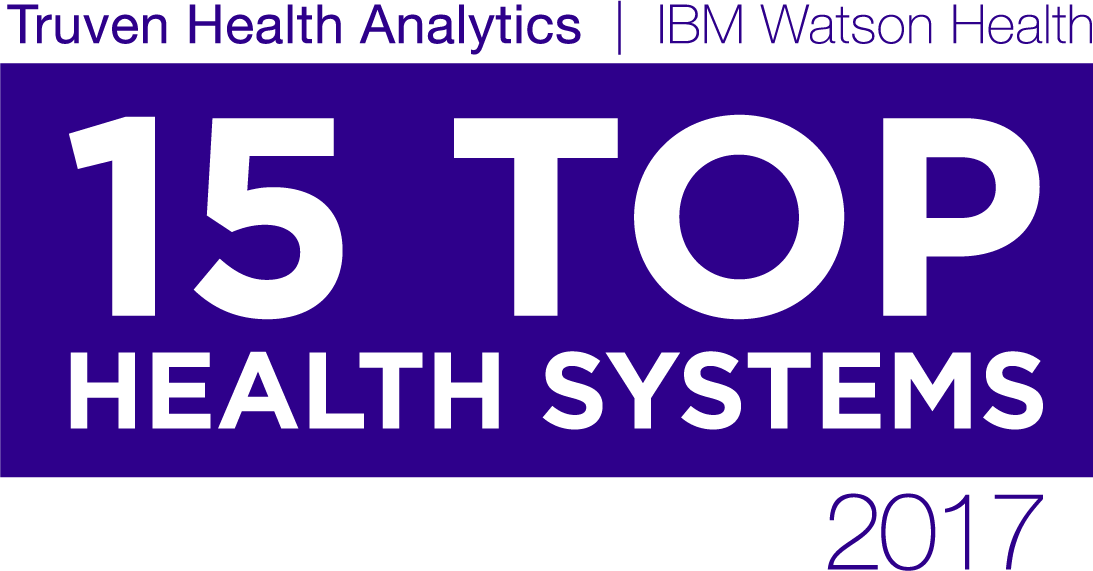 Truven 15 Top Health Systems logo