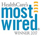HealthCare's Most Wired logo