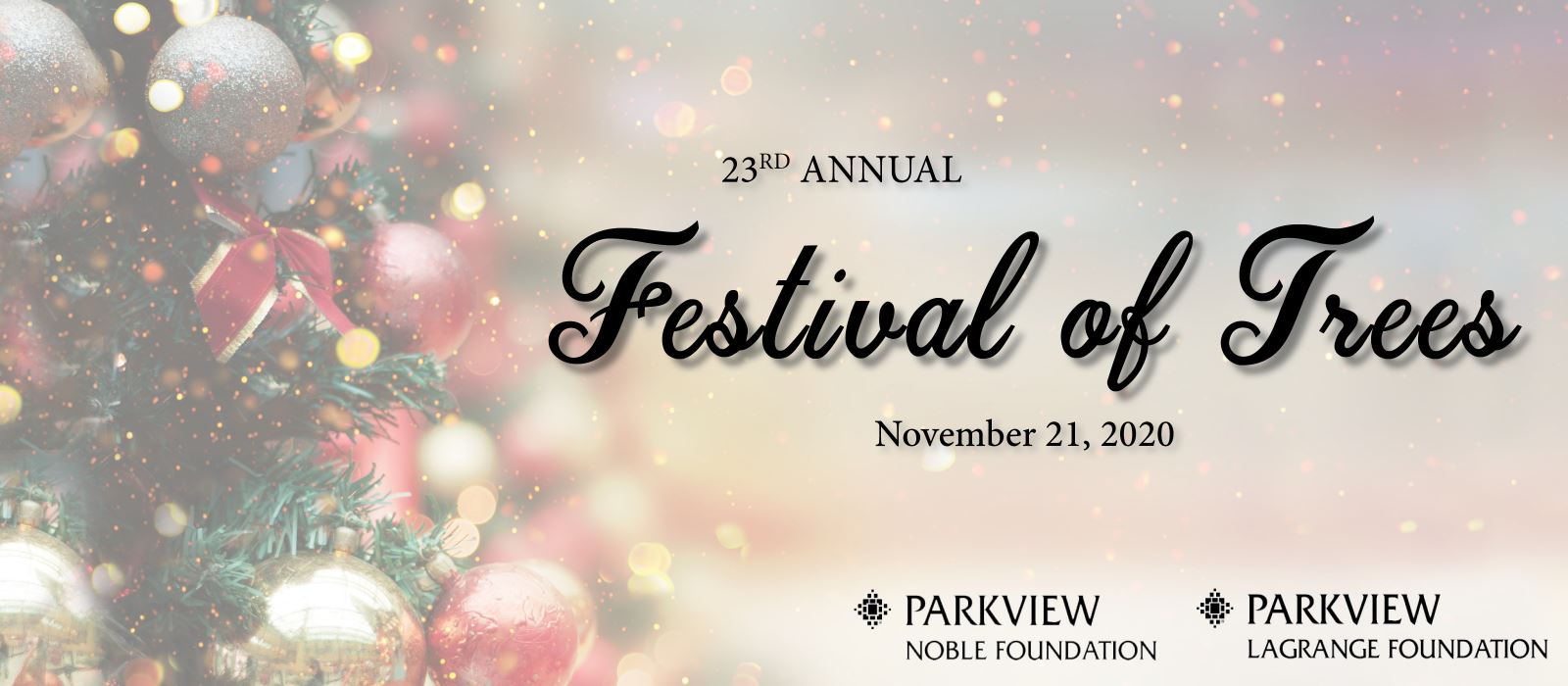 Parkview Festival of Trees Gala