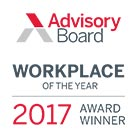 Advisory Board Workplace of the Year 2017 logo