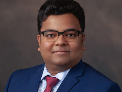 Photo of Ankur Sinha, MD of Pulmonology