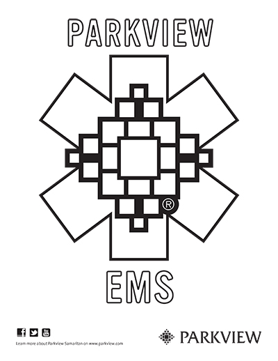 EMS Symbol Coloring Pages