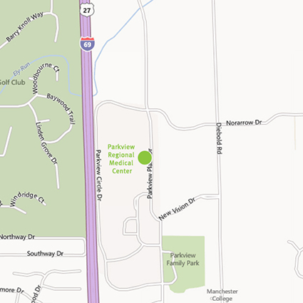Street Map to PRMC