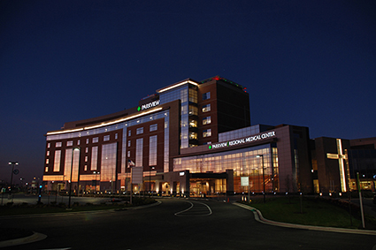 Parkview Regional Medical Center at night