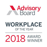 Advisory Board Workplace of the Year 2018 logo