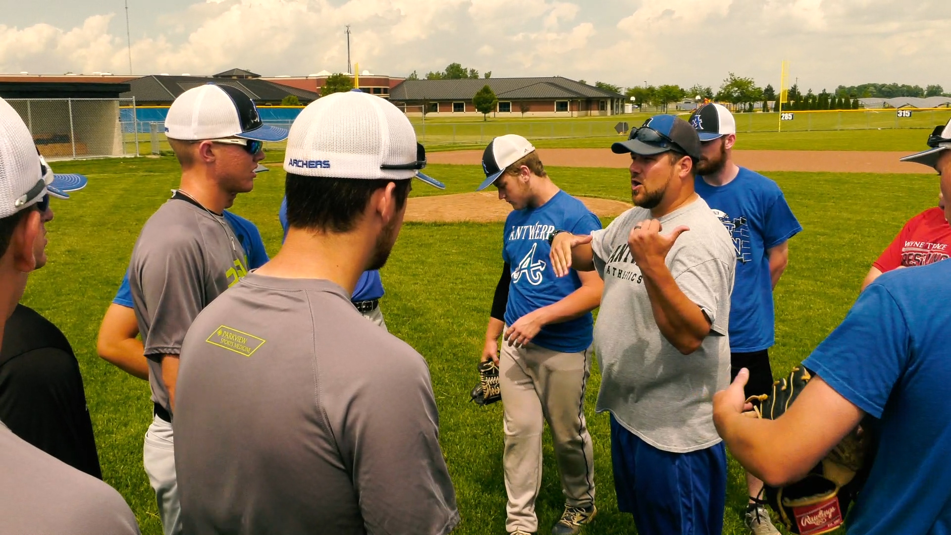 Antwerp enters first baseball state finals with confidence