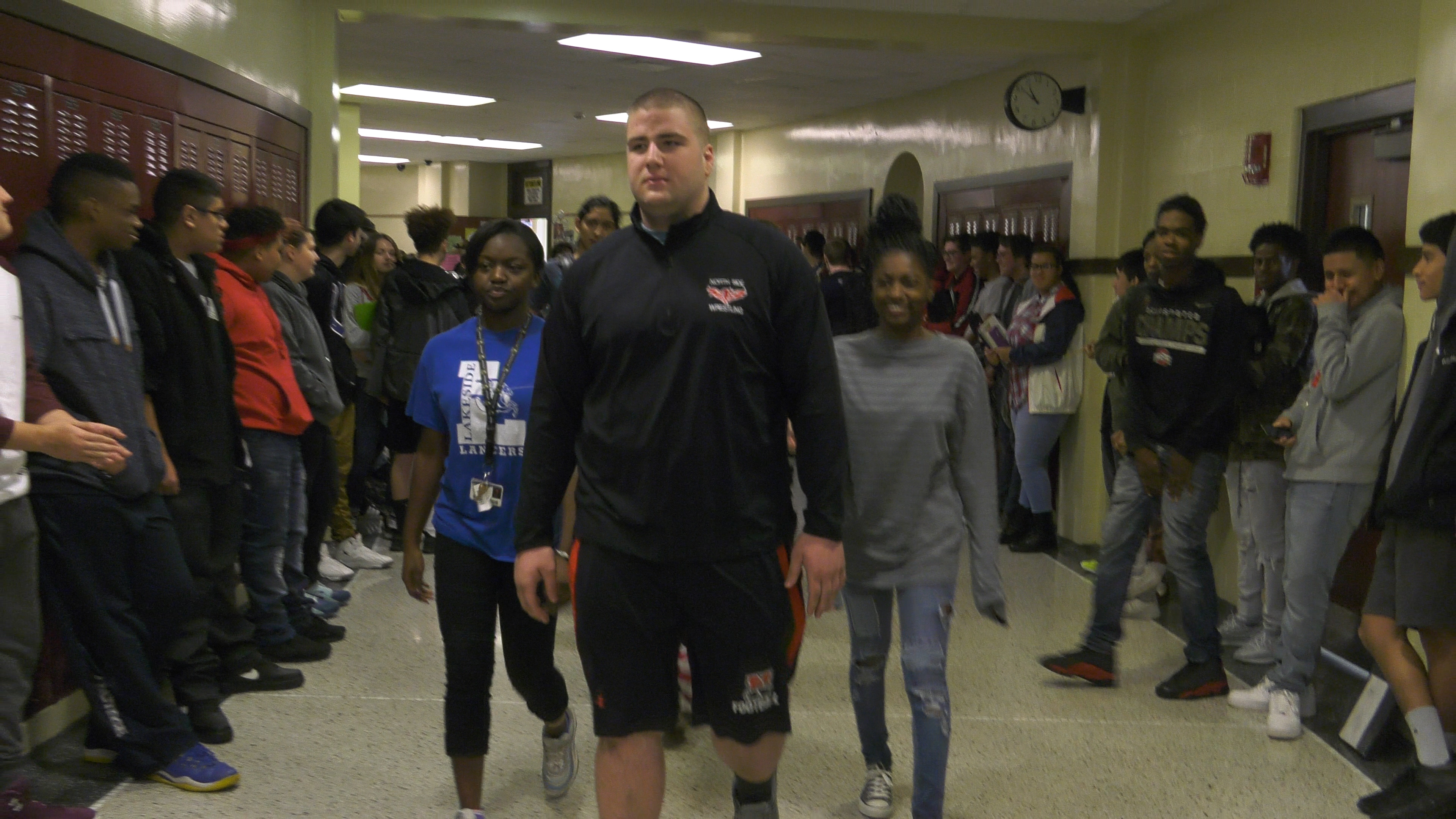 Ault gets big North Side send off ahead of state wrestling finals