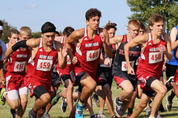 Heritage Boys XC Claim Back-to-Back-to-Back ACAC Champs