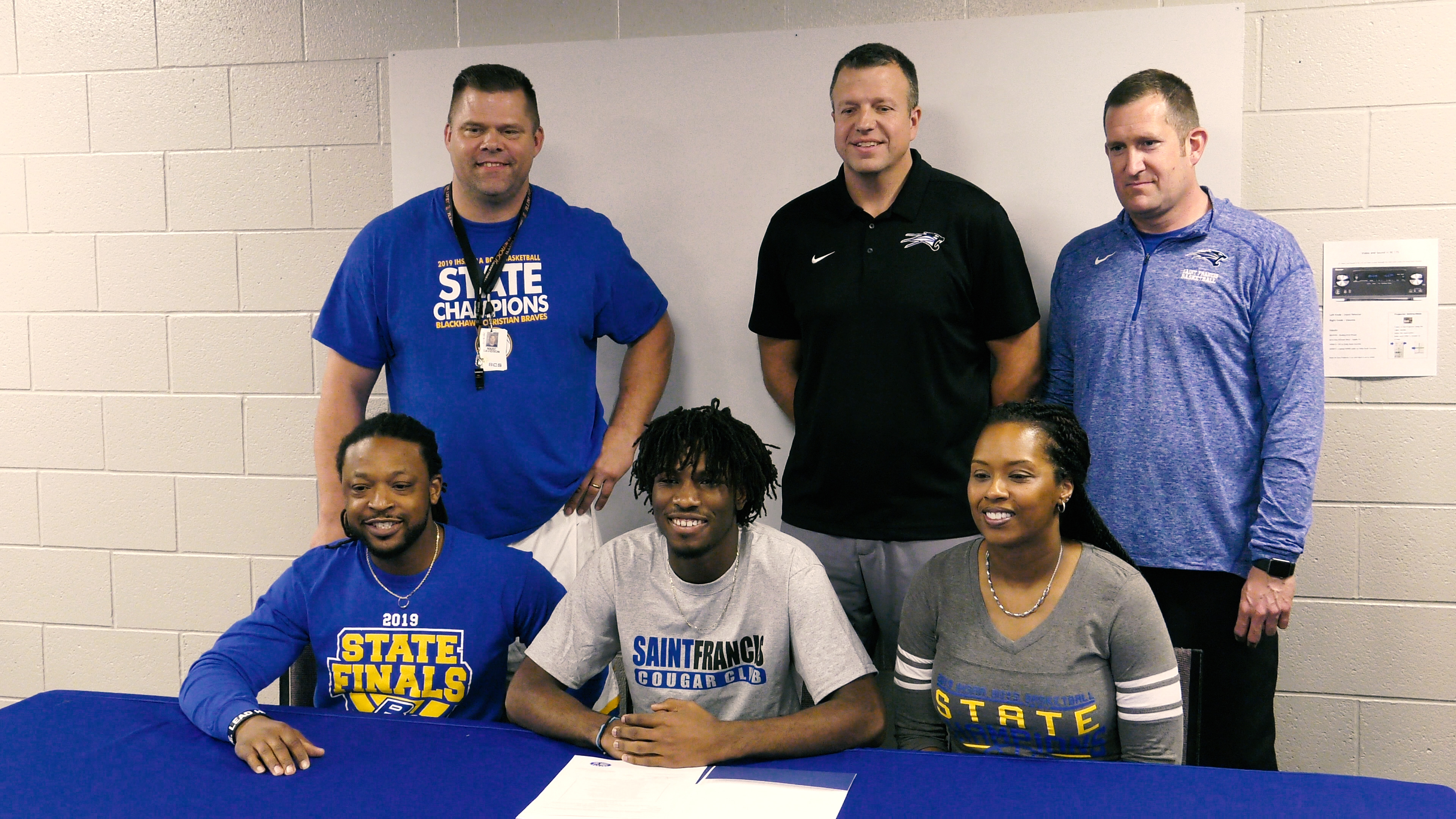 Blackhawk Christian's Clark signs with USF basketball