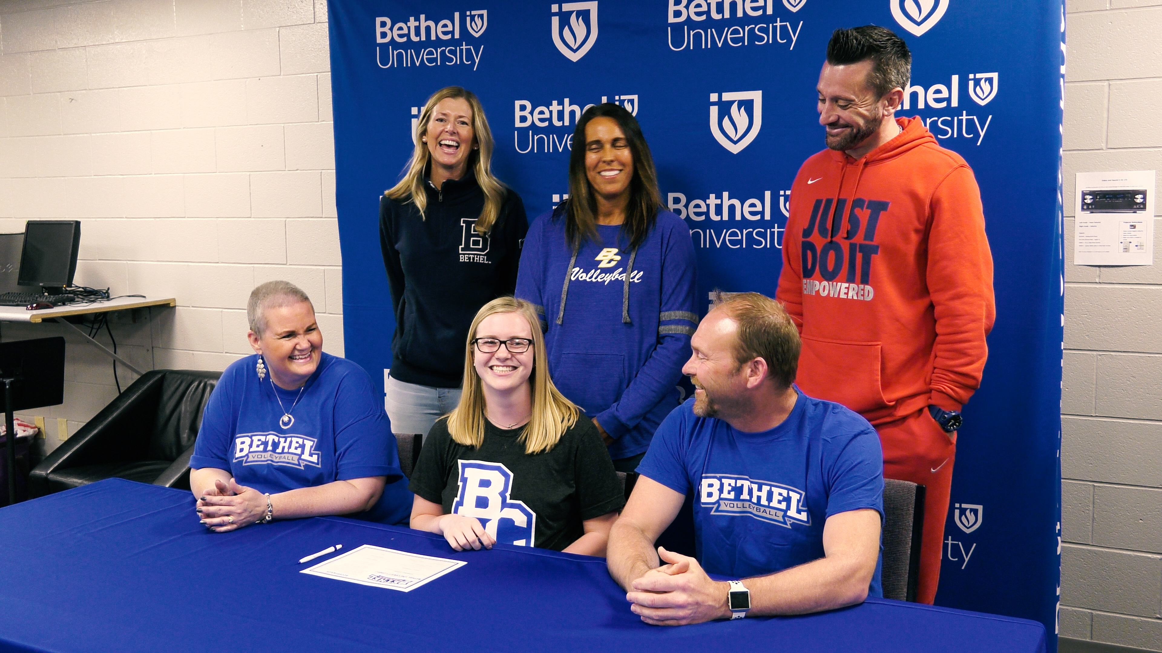 Blackhawk Christian's Kennedy Kintz signs with Bethel volleyball