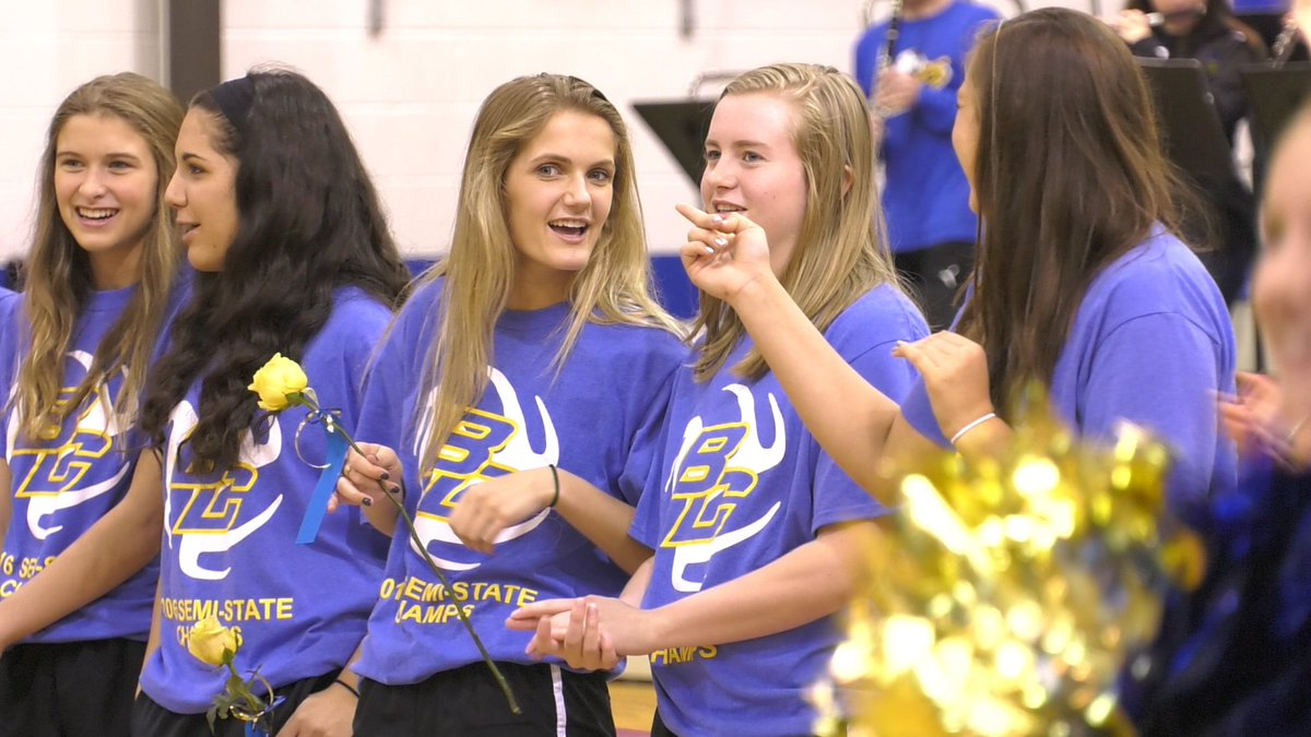 Blackhawk Christian volleyball gets strong State Finals sendoff