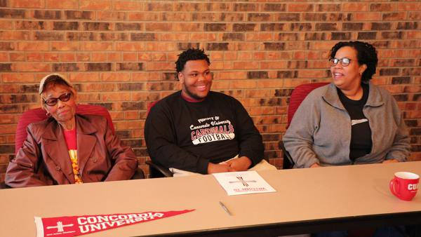 Cadets' Trey Freeman signs with Concordia Ann Arbor football