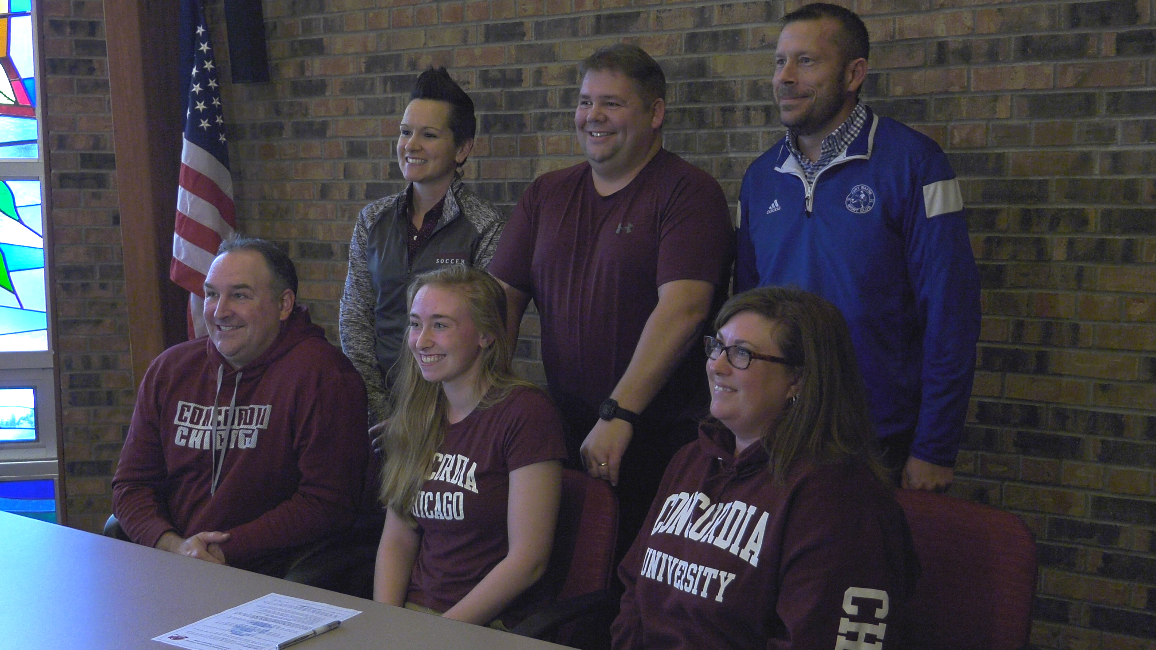 Cadets senior Falkenstern signs with Concordia University Chicago soccer