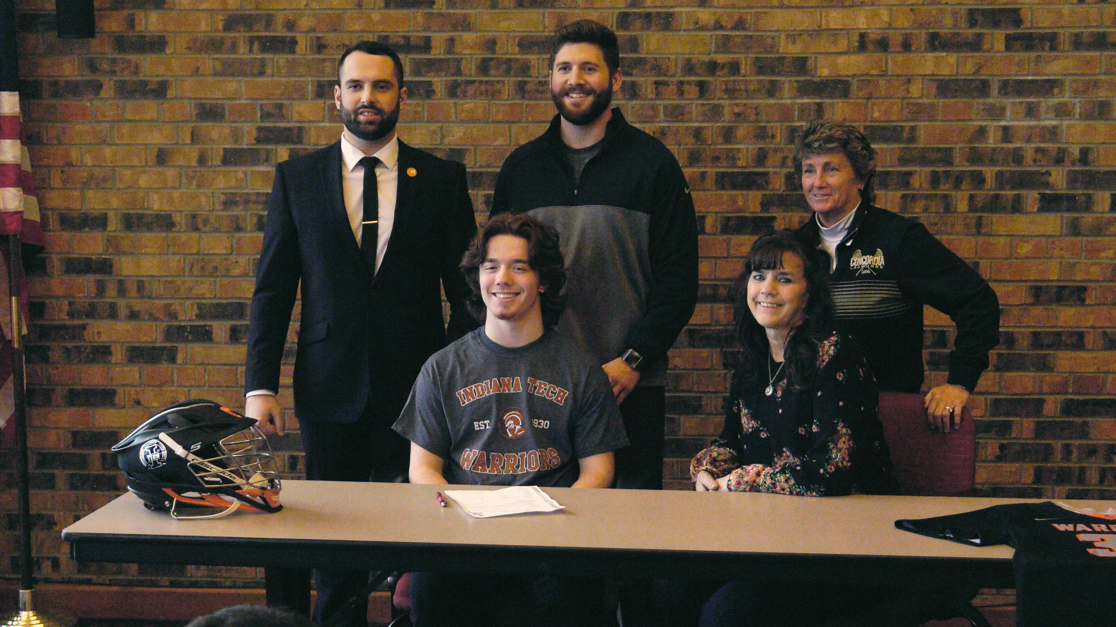 Concordia's Craddock joins Indiana Tech lacrosse