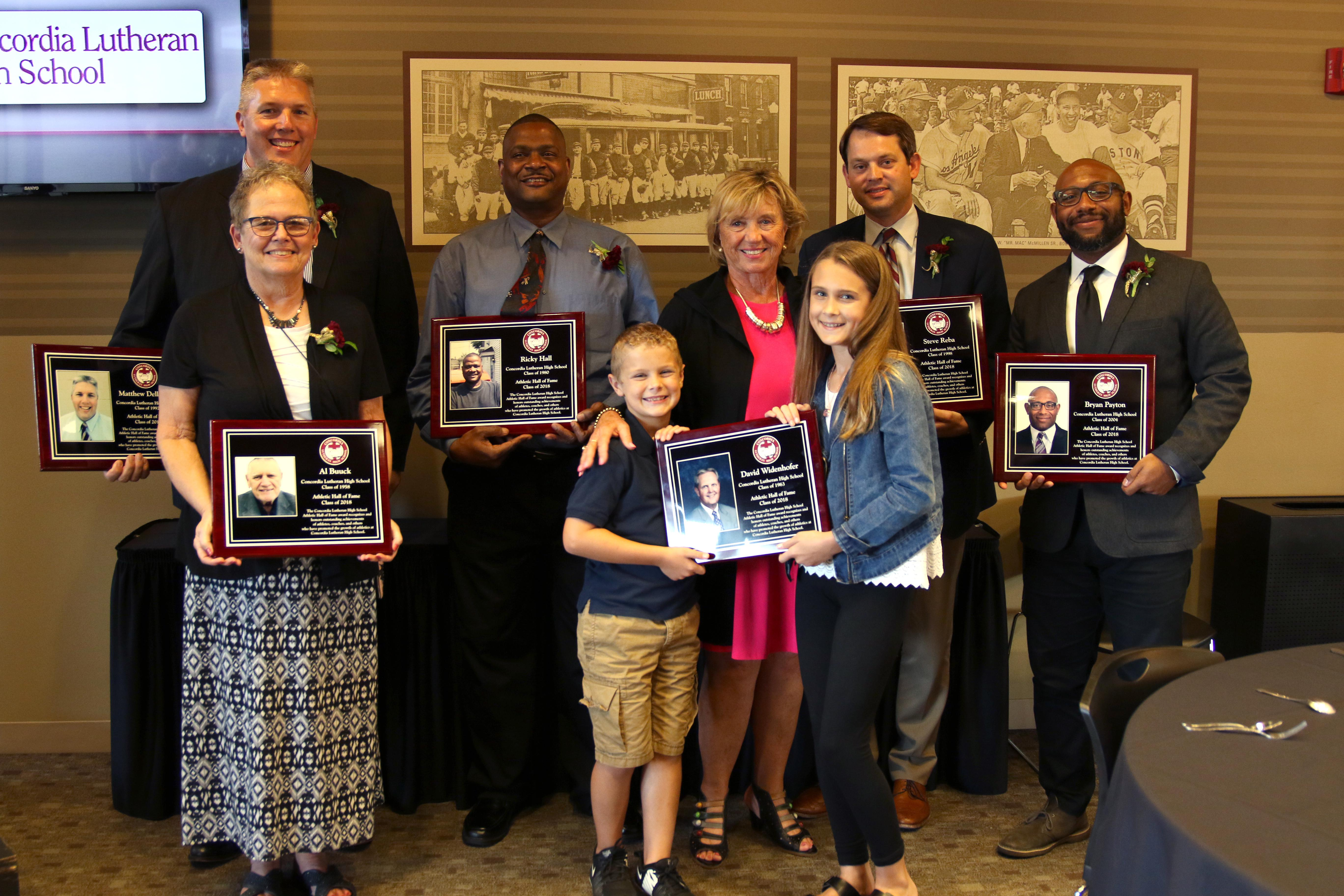 Concordia adds to to Athletic Hall of Fame