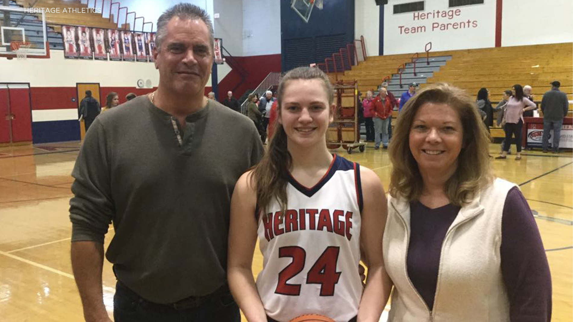 Heritage's Dossen nets 1,000th career point