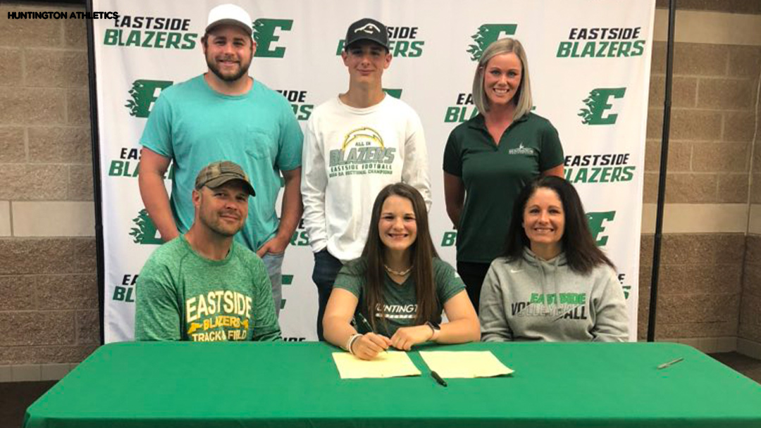 Eastside's Gerke joins Huntington University volleyball and track & field