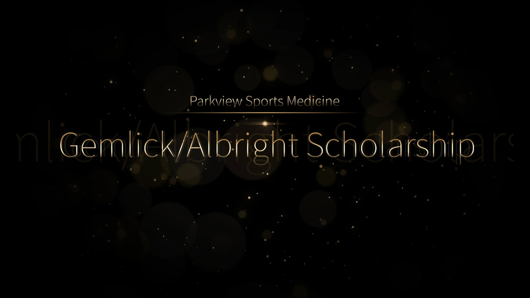 Seniors honored with Gemlick/Albright Scholarships, virtual ceremonies