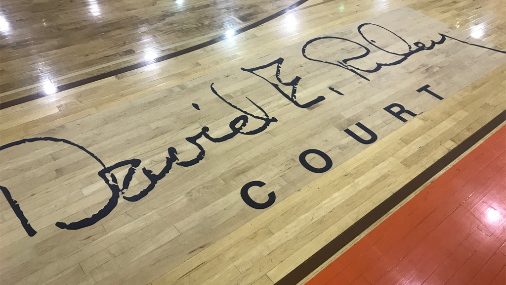 Northrop renames basketball court for late hall-of-fame coach Dave Riley