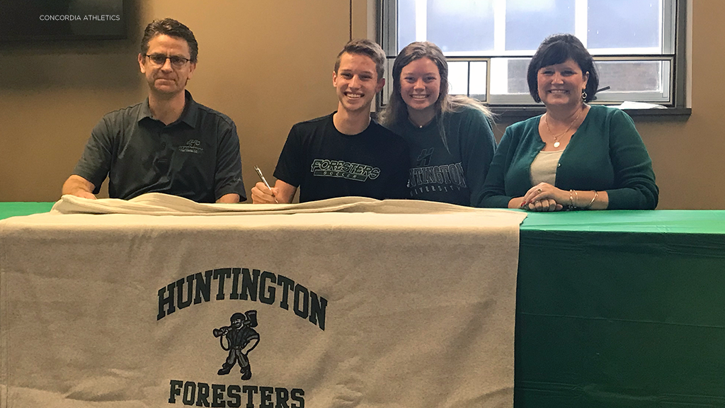 Concordia's Lemmon joining Huntington University men's soccer