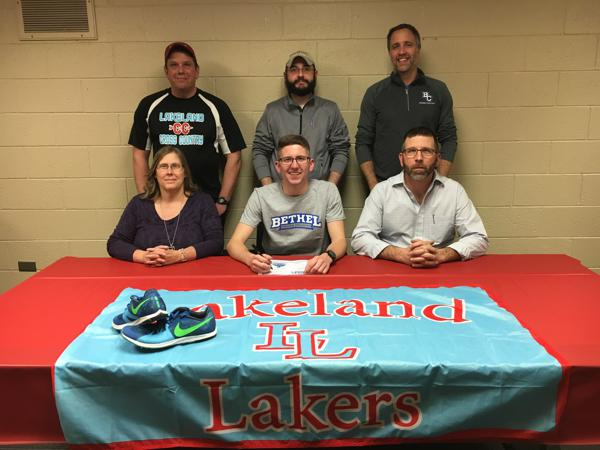 Lakeland's Eagleson signs to run at Bethel College