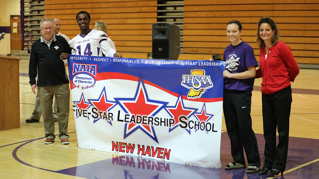 New Haven named Champion of Character School