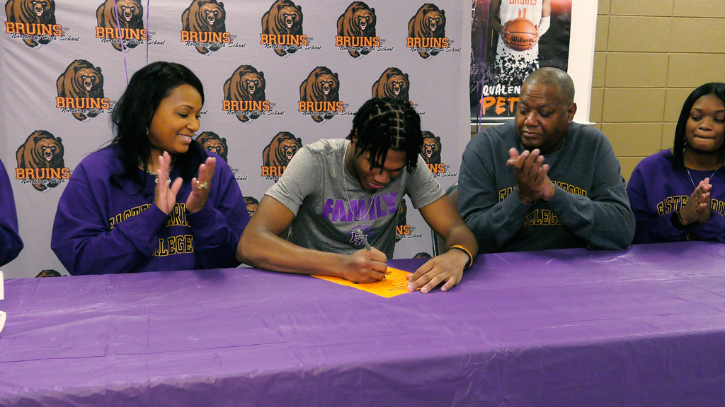 Northrop's Pettus joins Eastern Arizona College
