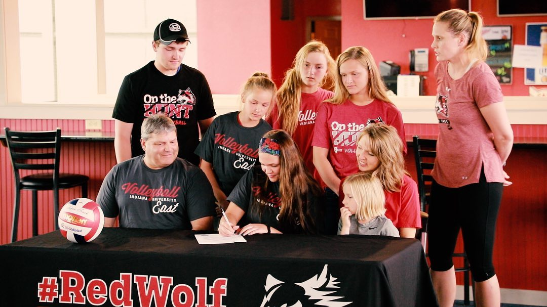 Renninger returns to volleyball; signs with IU East