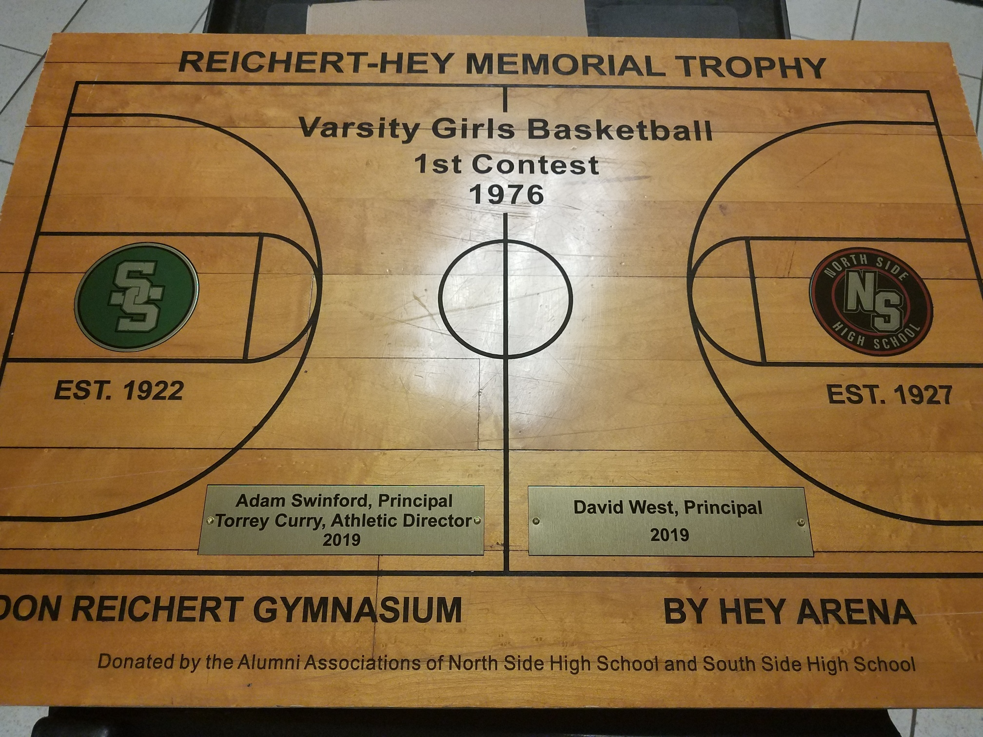 Reichert-Hey Memorial Trophy adds new stakes to South Side/North Side rivalry