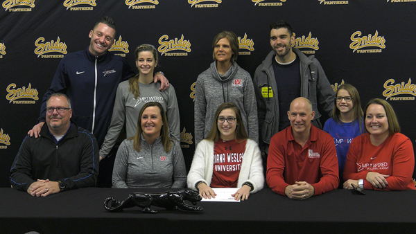 Snider's Gebert signs with IWU volleyball