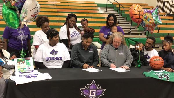 South Side's Chapman signs with Goshen College