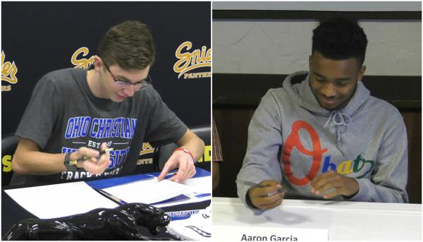Two Snider Panthers sign to play college sports