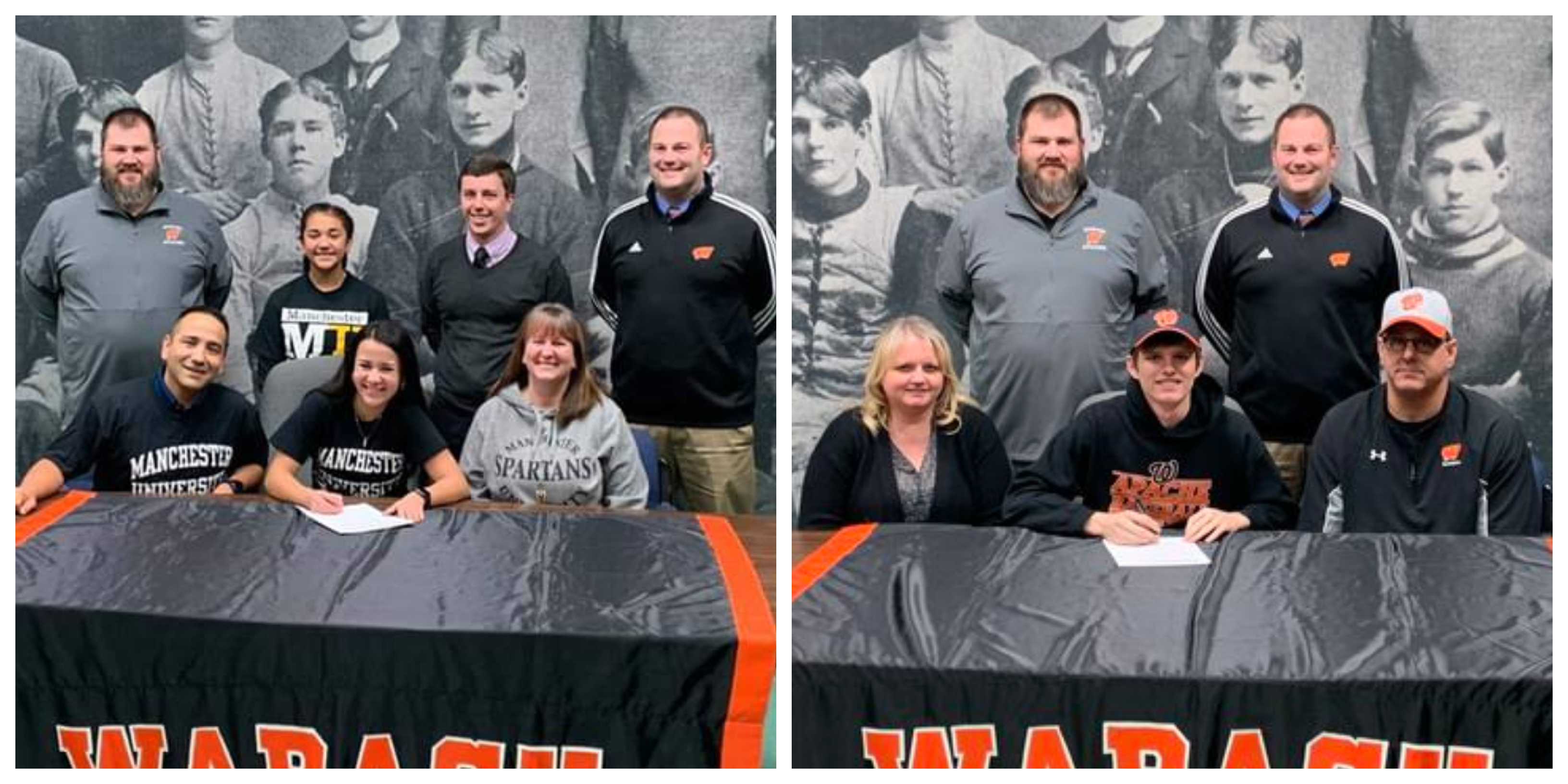 Wabash holds signing day ceremonies for 2 senior student-athletes
