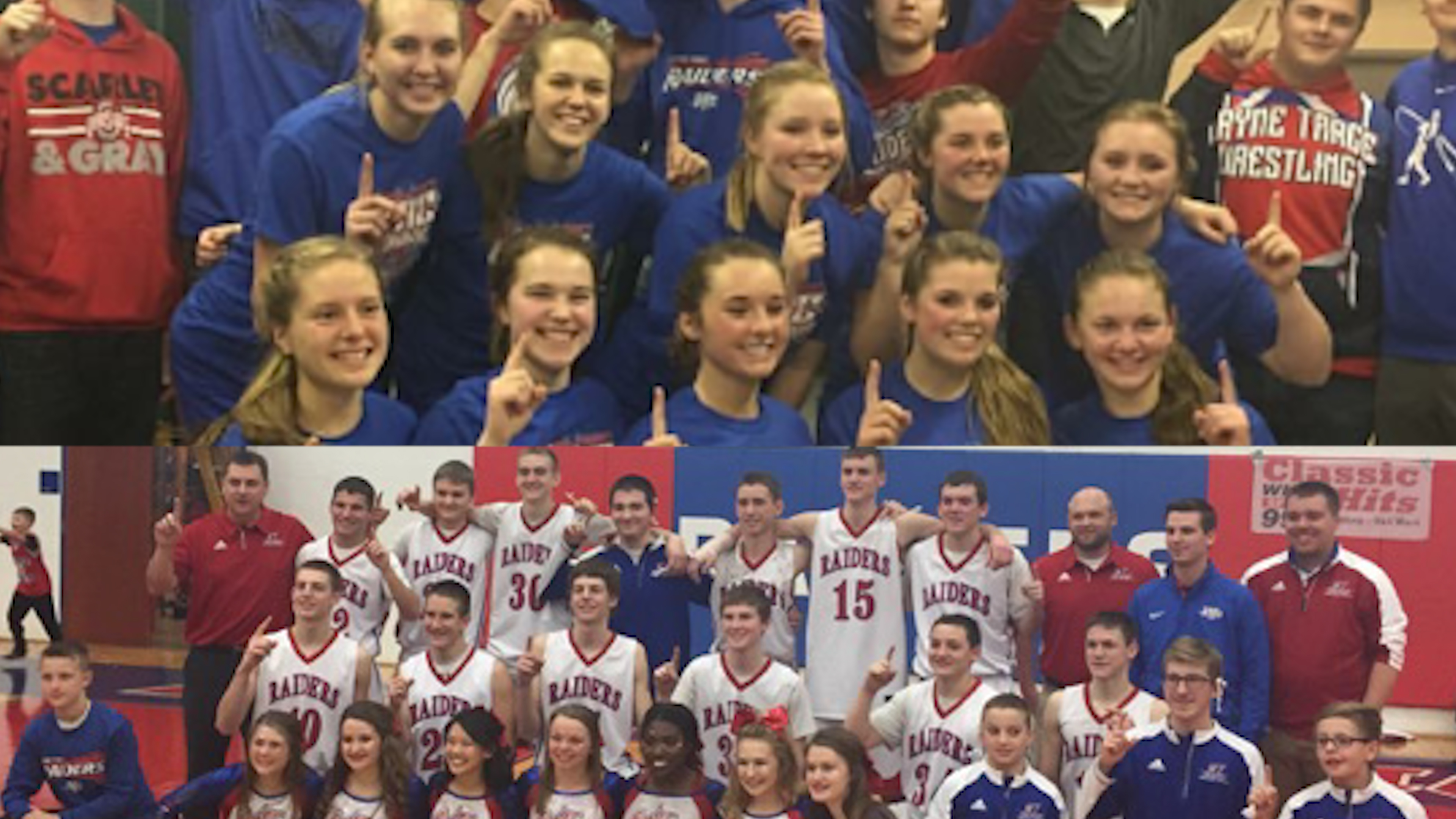 Wayne Trace boys & girls hoops win conference crowns in same season for 1st time