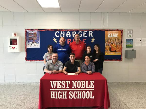 West Noble's Romo signs with Saint Francis soccer