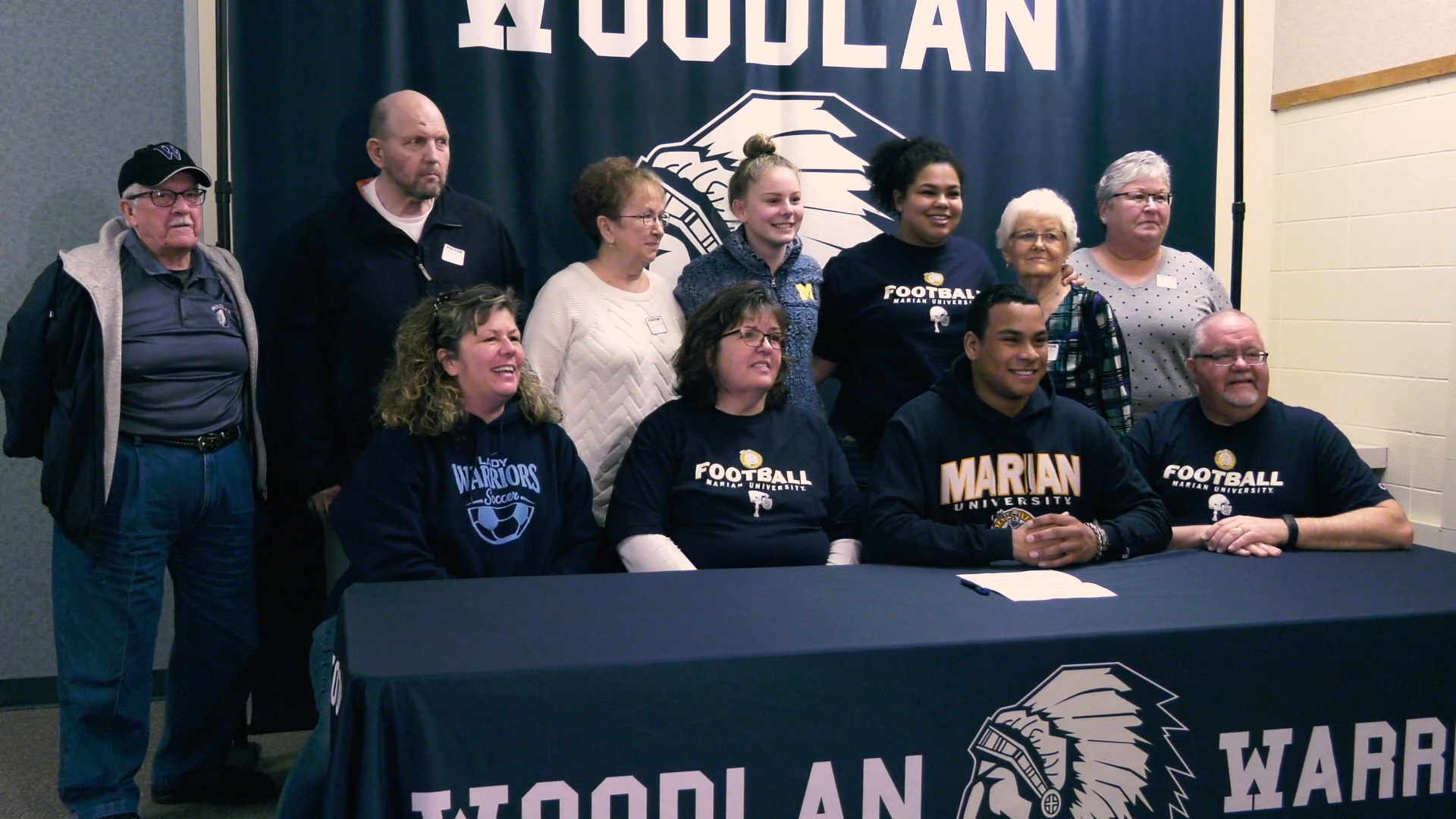 Woodlan's Meyer makes football plans with Marian